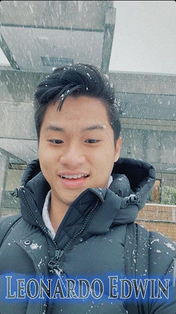 Biodata YouTuber Leonardo Edwin
