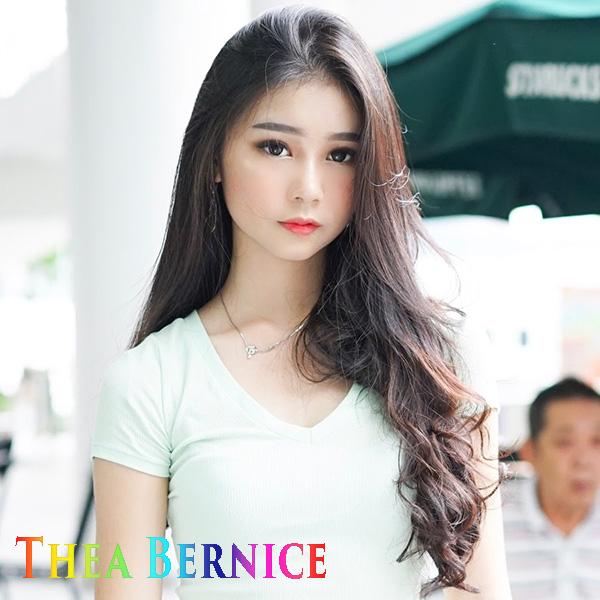 Thea Bernice Selebgram Muda Indonesia