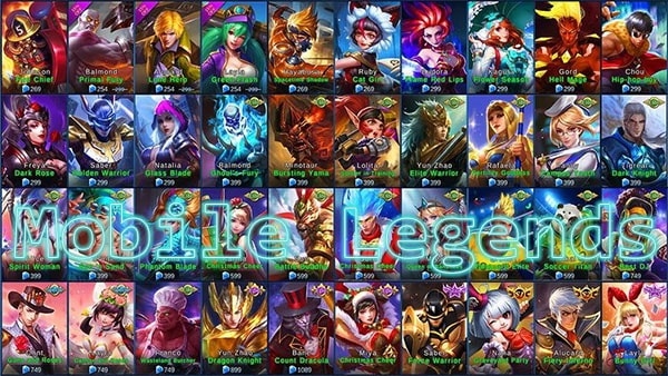 Game Online Mobile Legends: Bang Bang
