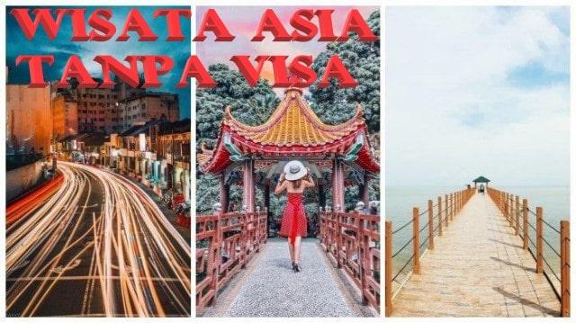 Daftar Negara yang Bisa Dikunjung Tanpa Visa oleh Warga Indonesia