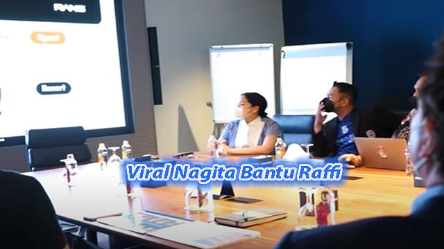 Viral Nagita Bantu Raffi Ahmad Dalam Presentasi Bisnis Di Turki